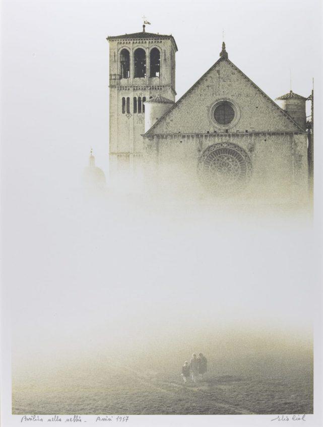 Собор в тумане