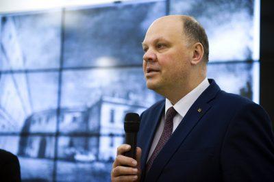 Генеральный консул Литовской республики в Санкт-Петербурге Дайнюс Нумгаудис