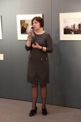 Алена Алексеевна Даценко, директор Приморской государственной картинной галереи