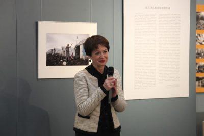 Вероника Юрьевна Выборнова, специалист департамента коммуникаций, руководитель историко-архивных и выставочных проектов МККК