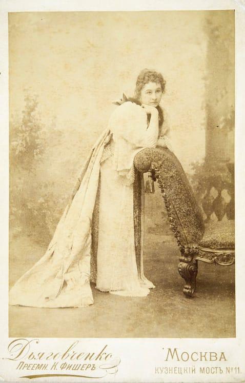 Портрет М.Н.Ермоловой